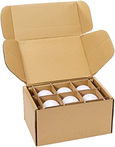 AmazonBasics Commercial Grade 25,000 Hour LED Light Bulb | 100-Watt Equivalent, A21, Soft White, Dimmable, 6-Pack