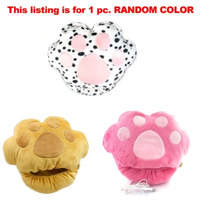 USB-Foot-Hand-Warmer-Heater-Cushion-Pet-Soft-Toy-Paw