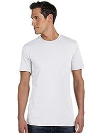 Canvas Men's Taped Shoulders Side-Seamed T-Shirt