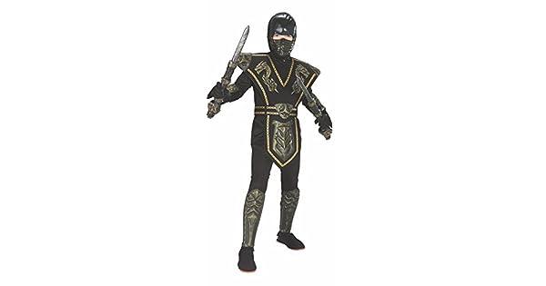 Amazon.com: Disfraz infantil de guerrero ninja Dragpon de ...