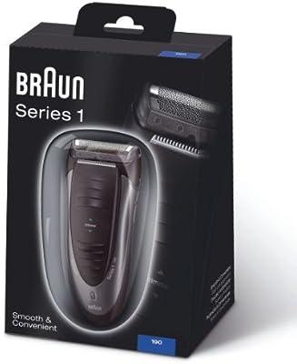 Braun Serie 1 190-1 - Máquina de afeitar eléctrica recargable ...