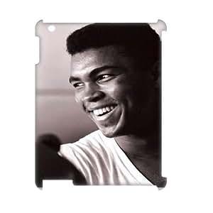Muhammad Ali Design Cheap Custom 3D Hard Case Cover for iPad 2,3,4, Muhammad Ali iPad 2,3,4 3D Case