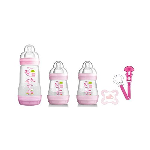 MAM Welcome to the World Set, Pink - Pack of 2