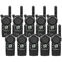 10 Pack of Motorola CLS1410 Two-way Radios with Programming Video