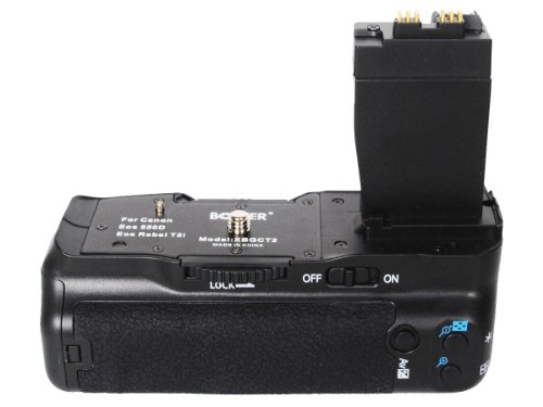 The Best BOWER BATTERY POWER GRIP FOR CANON by Generic (Image #1)'