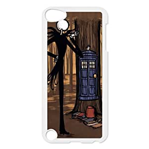 Custom High Quality WUCHAOGUI Phone case Doctor Who - Police Box Pattern Protective Case FOR Ipod Touch 5 - Case-20