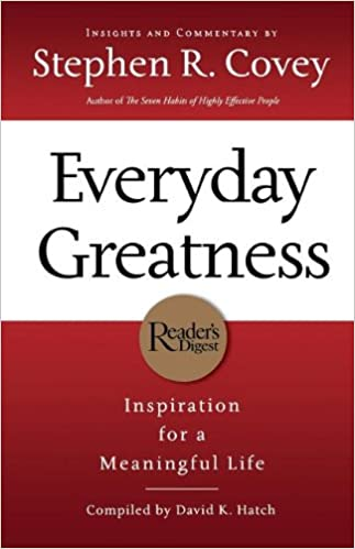 everyday greatness stephen r covey free download