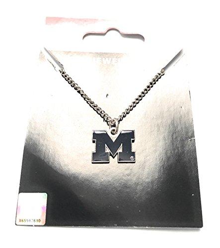 NCAA Michigan Wolverines Logo Pendant Necklace