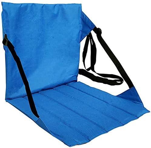 Camping Lightweight /& Portable Canoe Seat Stadium Cushion for Hiking Stadium Seat with Back Support Boating and Stadium Use Fishing