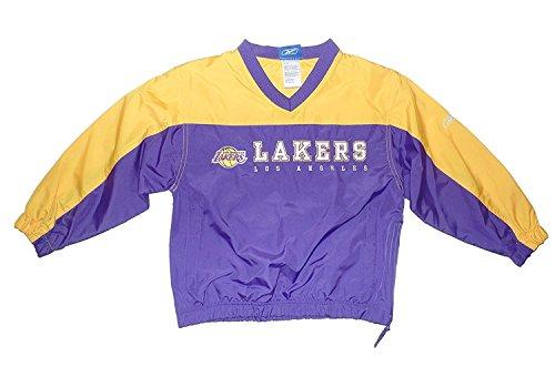 Los Angeles Lakers Youth Warmup Jacket Medium 10-12