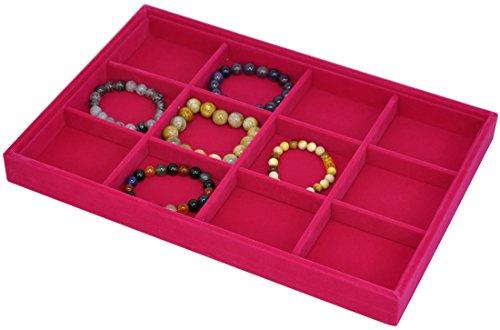 Stackable Jewelry Showcase Display Organizer