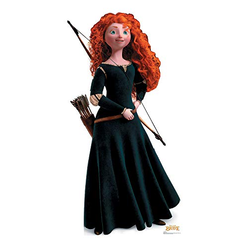 Fun Express - Brave's Merida Standup - Party Supplies - Licensed Tableware - Misc Licensed Tableware - 1 Piece - Favor Disney Party Brave