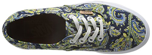 Dress dress VANS Paisley Blue Sneaker Authentic Blues Schuhe VN0004OPITN 6wHP1qx