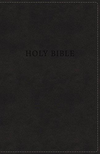 KJV, Deluxe Gift Bible, Leathersoft, Black, Red Letter Edition, Comfort Print: Holy Bible, King James Version ()