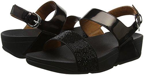 Sandals strap Back Punta Black black Sandali Ritzy Fitflop Donna Aperta 7afwtxn