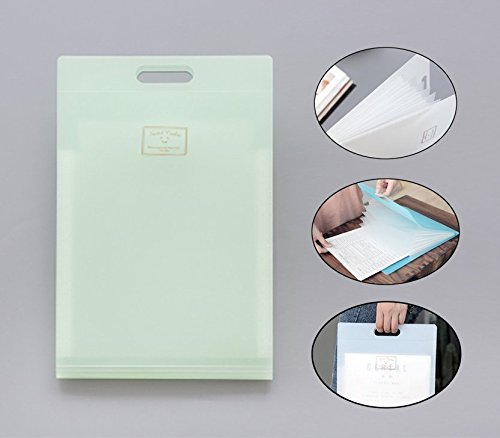 Office & School Supplies Stationery Holder Qualified A4 Clear Plastic Document Paper Filling Casetransparent Storage Box File Pp Office Organizer Invisible Storage Stationery Cases Quality First