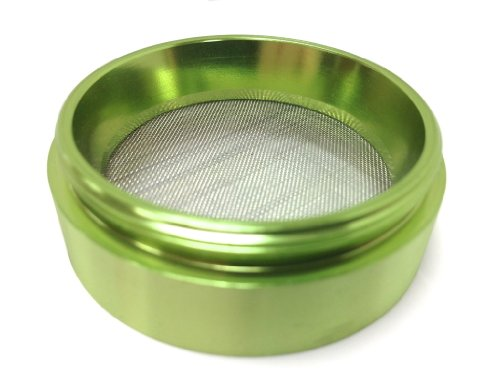 Hush Crush 2'' 4-Piece Magnetized Tobacco Herb Grinder - Lime Green by Hush Crush (Image #5)