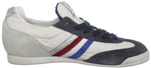running de cuero Zapatillas Washed Serafini Blue de White Blanco unisex Philadelphia Weiß gxwtq1AE