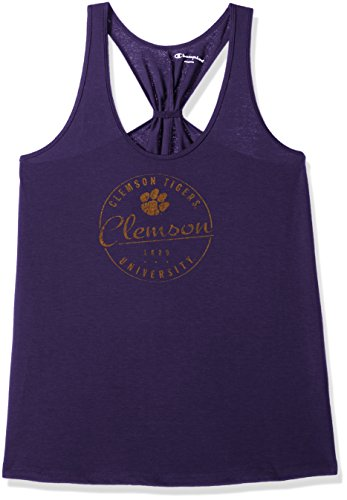 Champion NCAA LSU Tigers Women's Eco Swing Tank, Medium, (Lsu Tigers Drapes)