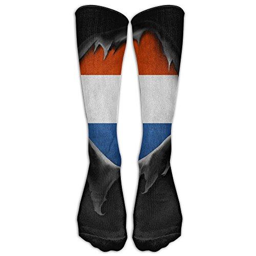 Netherlands Flag Proud Dutch Unisex Compression Socks Cool Football Comfort Moisture Wicking Non Slip Sock Shoe Size - To Netherlands Shipping Usps
