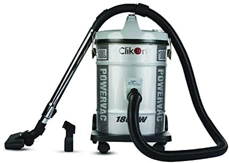 Clikon Vacuum Cleaner, 21 Liter, 1800W - CK4012