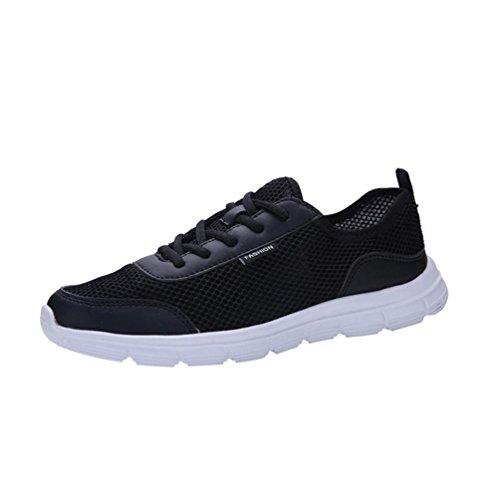 Schuhe Couple Sportschuhe Atmungsaktiv Herren Sneakers Schnürung Schwarz Männer Shoes Sportschuhe Outdoorschuhe Belüftung Ultraleicht Btruely Running Turnschuhe Laufschuhe Jogging Fitnessschuhe 60anqw