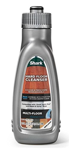 Shark Steam Energized Multi-Floor Hard Floor Cleanser - New Look 20oz (Cleaner Floor Shark)