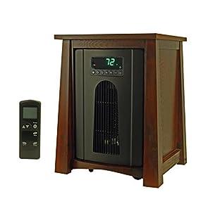 (2) LifeSmart LifePro LS-8WQH 2000 Sq Ft 1500 W Portable Infrared Quartz Heaters