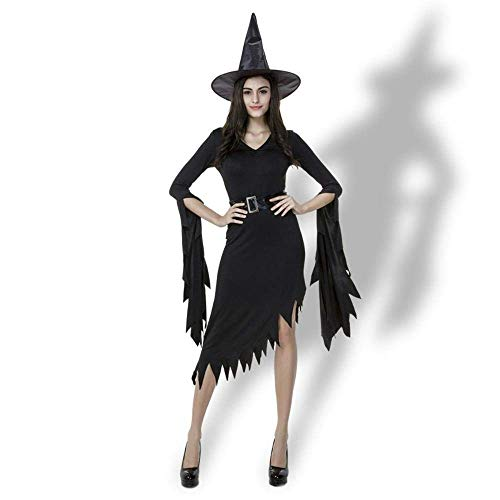 Fashion-Cos1 Halloween Witch Costumes for Women Cosplay Queen