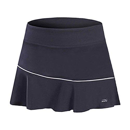 32e SANERYI Women's CoolDry Elastic Tennis Skirt With Shorts Dance Skorts