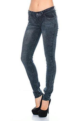 Damen Jeans Skinny Slim Fit ID437