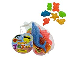 Bulk Buys Toy sand molds (Set of 72)