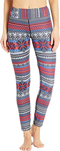 Sublimated Tights (Hot Chillys Women's MTF Sublimated Print Tight Alpine Small 26)