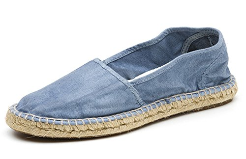 Eco Tela per Scarpe Espadrillas in Donna World Natural Vegan Trendy BwFAqU5x