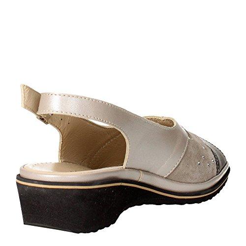 ... Cinzia Soft IP140-P 001 Sandal Damen Grau ...