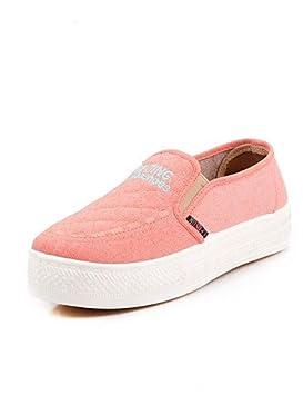 ZQ gyht Zapatos Mujer – Mocasines – vestir/Casual – Trineo/Creepers/Punta