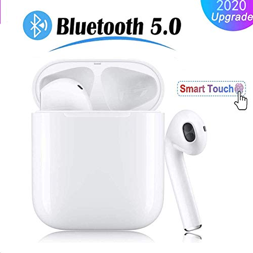 Bluetooth Earbuds, i11 Pop-up Bluetooth Headset, Bluetooth 5.0 Stereo Hi-Fi Sound, IPX5 Waterproof Headset with Charging Case, Comfortable for Android/iPhone/Samsung