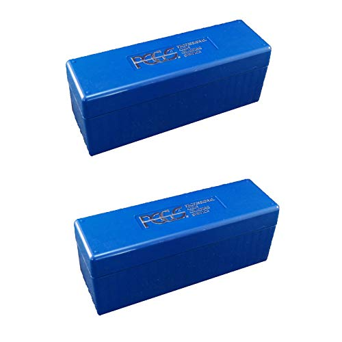 Price comparison product image PCGS Plastic Storage Box for 20 Slab Coin Holders 2 Pack