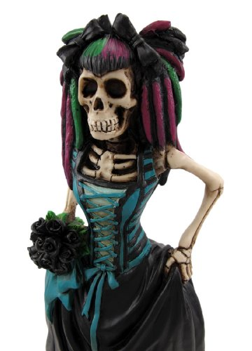 Day of The Dead Gothic Bride Figurine