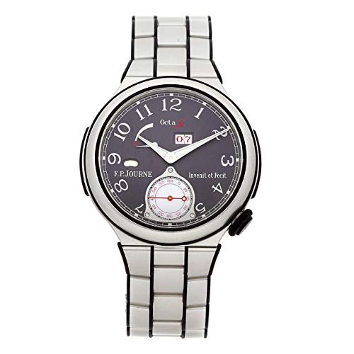 F.P. Journe Octa Sport Aluminum Auto 42mm Grey Dial Aluminum Bracelet Mens Watch ARS ALU (Certified (Mens Automatic Movement Date Indicator)