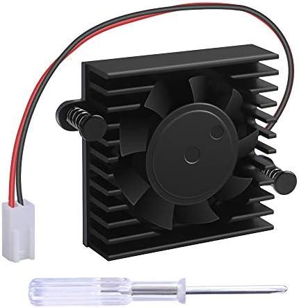 NewHail Ventola di Raffreddamento Dissipatore di Calore con Scatola per DaHua DVRHDCVI Camera Fan DVR Scheda Madre Ventola 5 V DAHUA con 2 Filo 2 Pin