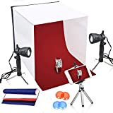 Emart 16 x 16 Inch Lighting Photography Studio Box Kit Tabletop Photo Light