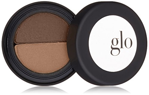 Eye Color Duo - Glo Skin Beauty Brow Powder Duo, 2 Shades in Brown | Eyebrow Filler for a Natural Look | 4 Shades