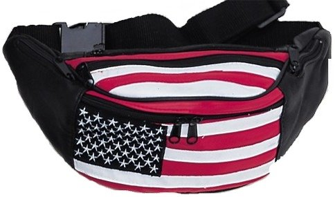 American Flag Fanny Pack style - 962AL