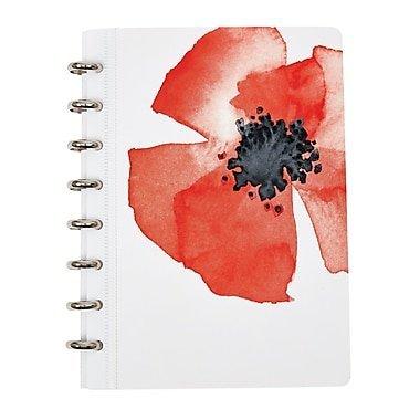 Martha Stewart Discbound Customizable Notebook, Junior-Size (51063) by Office by Martha Stewart