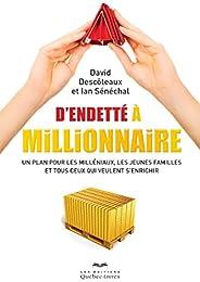 D'endetté à millionnaire: Un plan pour les milléniaux, les jeunes familles et tous ceux qui veulent s'