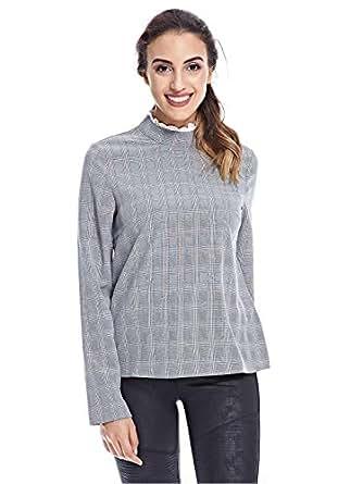 Fashion Union Blouses For Women, 10 UK, Grey