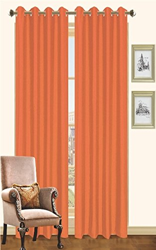 Kashi Home Holly Collection Faux Silk Window Panel / Curtain
