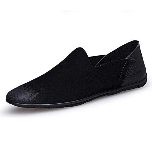 Zapatos Boda De Trabajo Black Cuero Para Negocios Scrub Hombre Ancianos qHrgTcSqBf
