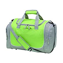 Sports-Bag with shoe compartment GYMZL Green by Vertrieb durch Preiswert & Gut